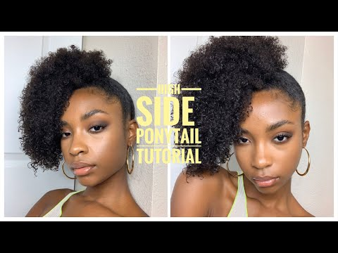 Easy High Side Ponytail Tutorial