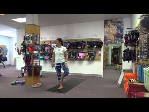 Athlete Yoga Focus on Feet