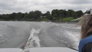 Kurt Harris behind Axis A22 w/o ballast on Rock River