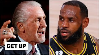 This isn't just Heat vs. Lakers, this is Pat Riley vs. LeBron James – Kendrick Perkins | Get Up