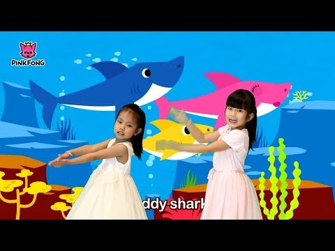 baby-shark-song-kids-|-pinkfong-two-sister