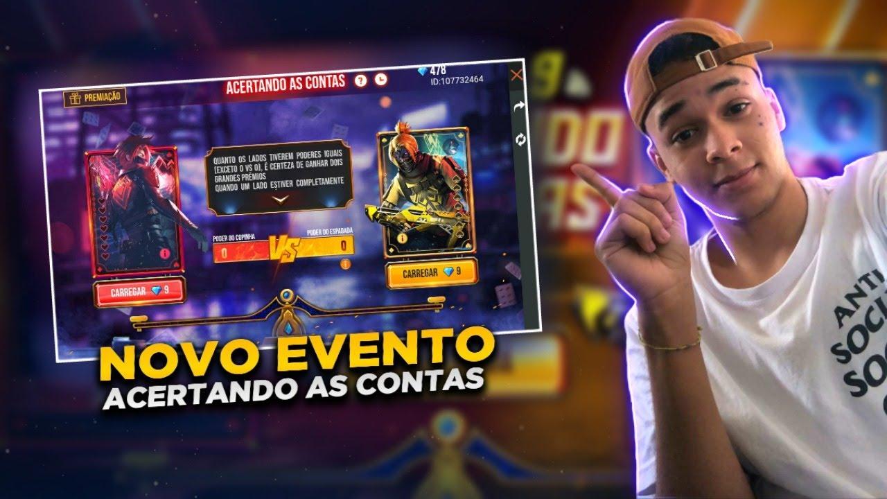 🔴 FREE FIRE AO VIVO - GucciEdits🔴 NOVO EVENTO ACERTANDO AS CONTAS 🔴 #LYONS