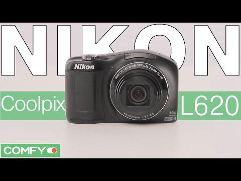 Nikon Coolpix L620 - цифровая фотокамера для путешествий - Видеодемонстрация от Comfy