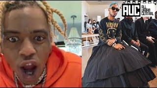 Soulja Boy Goes Off On Kid Cudi For Wearing A Dress And Fingernail Polish