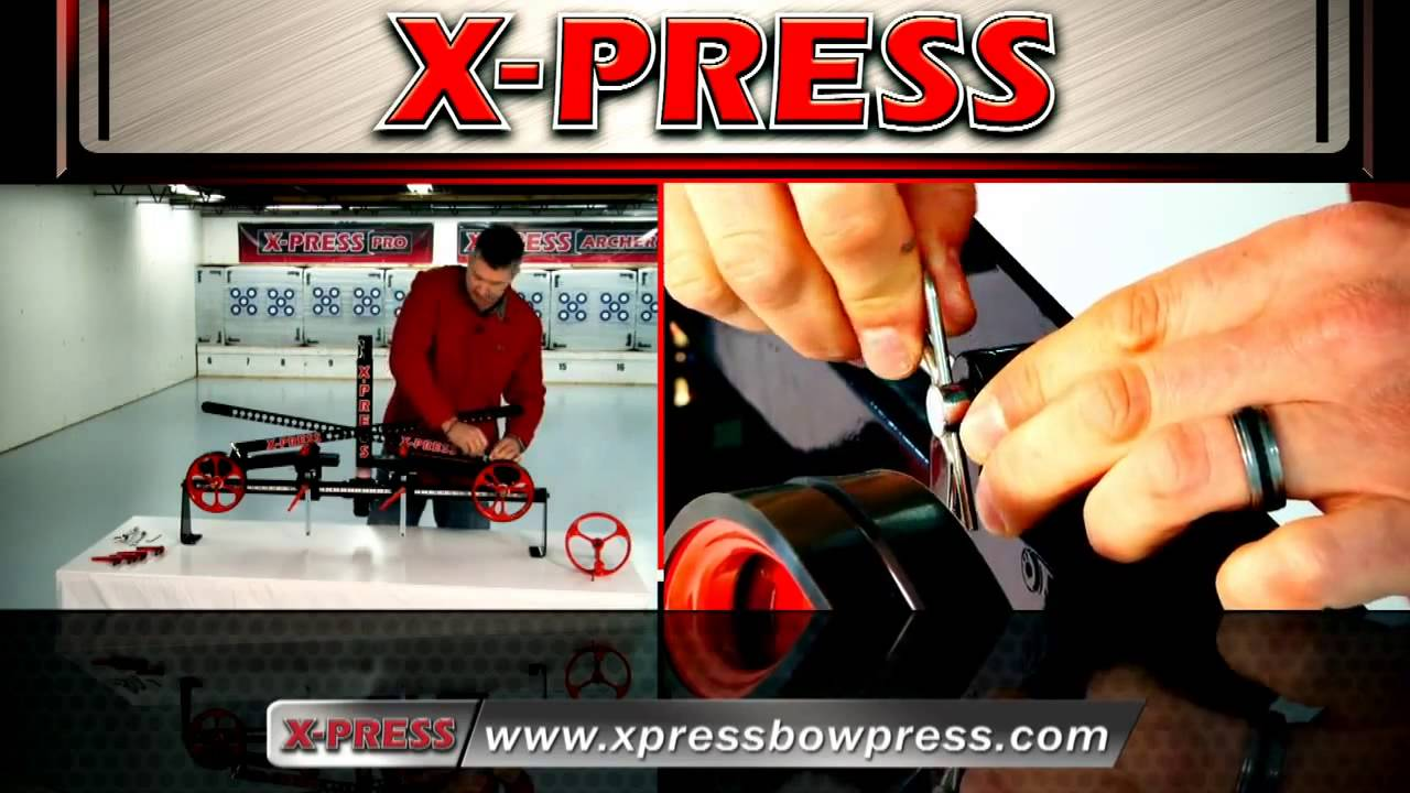 How to Assemble the X PRESS Archer Bow Press