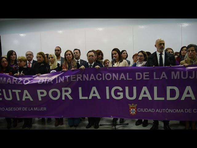 Lectura del Manifiesto institucional de la Ciudad del Día de la Mujer 2018