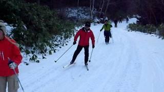 歩くスキー 講習 乗鞍