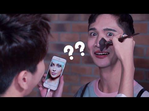 K-pop Idols Try to Do My Makeup