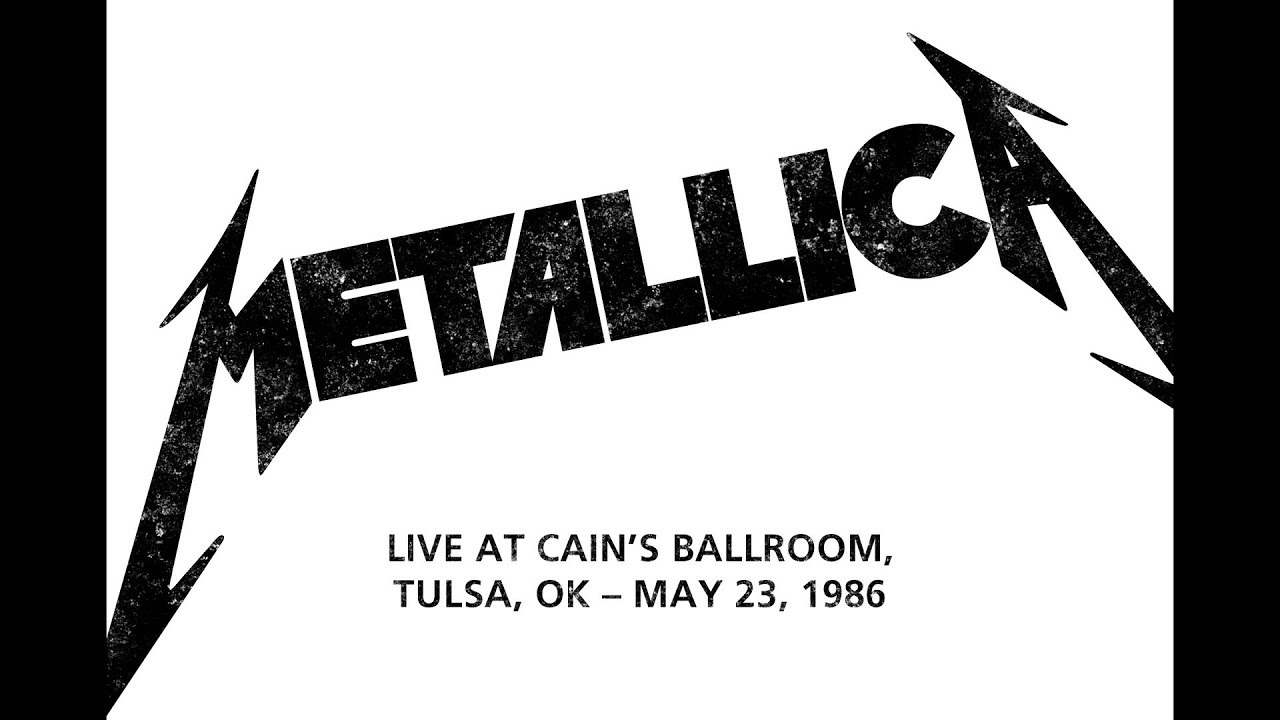 Metallica - Live at Cain's Ballroom, Tulsa, OK (1986) [New 2019 SBD Audio]