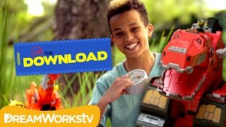 How to Be a Good Friend with the DinoTrux | THE DREAMWORKS DOWNLOAD