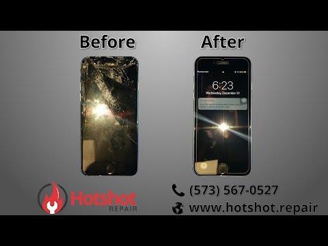 iPhone 6 Screen Repair at Hotshot Repair in Columbia MO