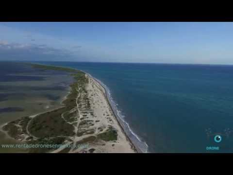 Drone Films México Isla Blanca