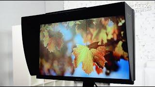 обзор монитора BenQ SW2700PT: для парней с большими объективами