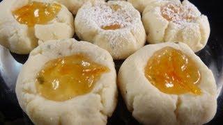 Rosemary-orange Thumbprint Cookies