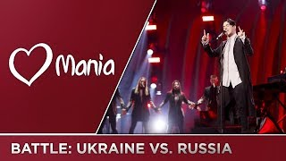 ESC BATTLE: Ukraine 🇺🇦 vs. Russia 🇷🇺 (2009-2018) // Battle // ESC Mania