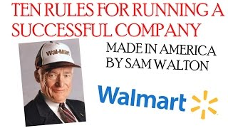 background information of sam walton the founder of wal mart