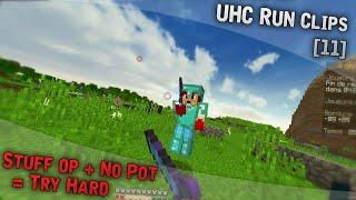 UHC Run Clips [11] - Stuff OP + No Pot = Try Hard