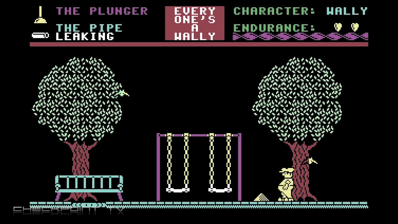 Everyone's A Wally - Commodore 64 Game Music