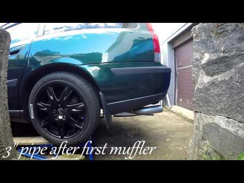 Repeat 02 Volvo S60 2 4T AWD Resonator Delete by