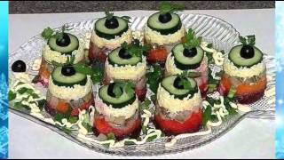 Праздничные Новогодние блюда Классные идеи оформления стола