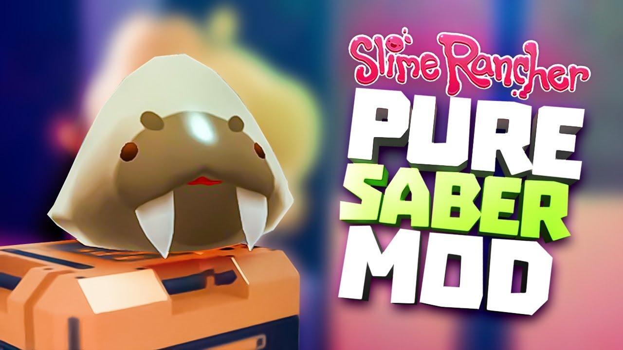 PURE SABER SLIME MOD - Slime Rancher Party Gordo Update & Saber Slime Mod