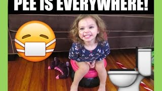 DAY IN THE LIFE OF POTTY TRAINING | VLOGMAS DAY 13