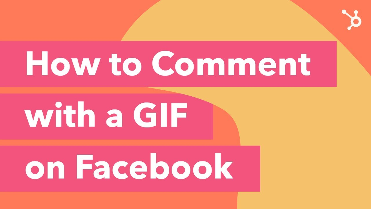 how to comment with a gif on facebook youtube