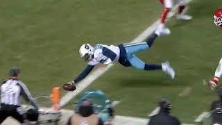 Marcus Mariota Catches His Own Touchdown Pass! | Titans vs. Chiefs | NFL