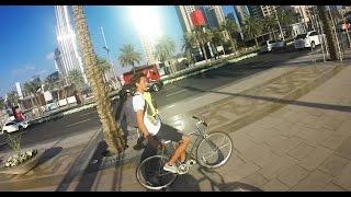 Fixie In Dubai DownTown