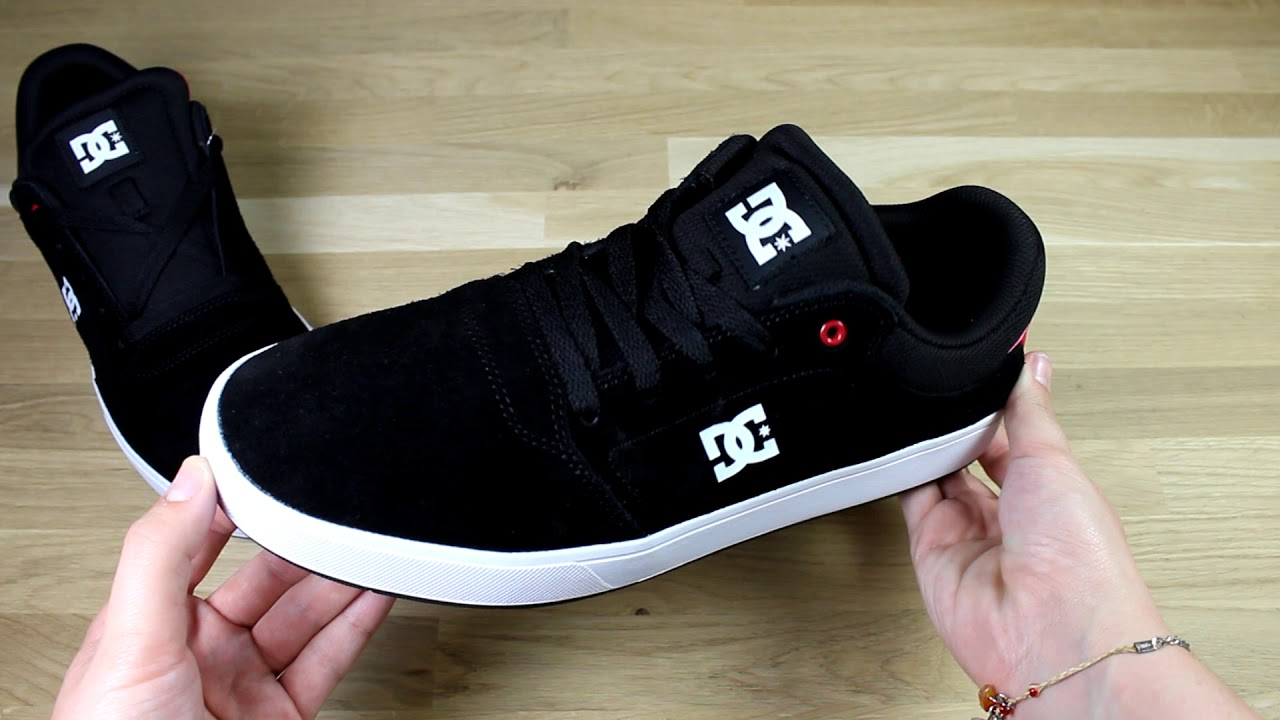 DC Crisis Trainers in Black/Red/White
