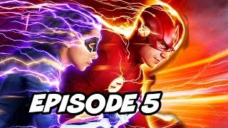The Flash Season 5 Episode 5 - TOP 10 Easter Eggs and References