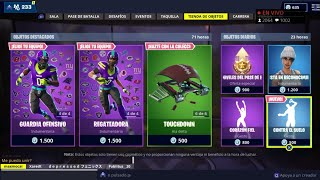 THE *NEW FORTNITE STORE TODAY NOVEMBER 11 *NEW BAILE* OF THE *NEW SKINS* OF THE NFL