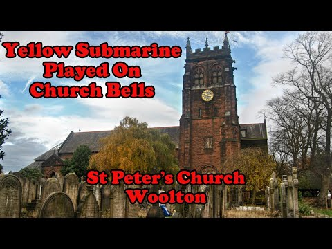 Yellow Submarine Played on Church Bells in St Peters Church Bell Tower