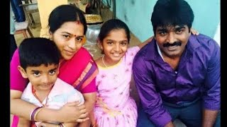 Actor Vijay Sethupathy Cute Family | Latest Kollywood News