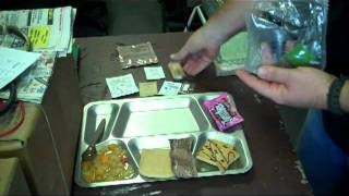 "A Look At Mres Menu 10 ""chili And Macaroni"""