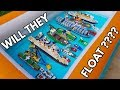 DO ALL THESE LEGO BOATS FLOAT ?????