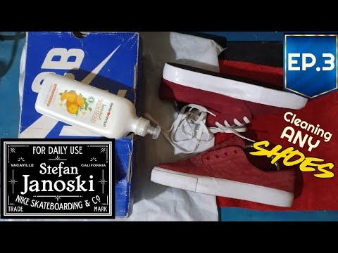 How to Clean Your Shoes   Stefan Janoski Cleaning   EP.3  Inamag !