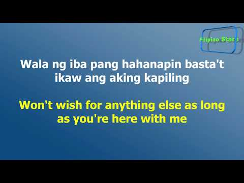 Iñigo Pascual - Dahil Sa'Yo with Lyrics in Filipino and English Translation
