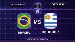 BRASIL x URUGUAI - MUNDIAL de CLASH ROYALE 2020 - NO TILT