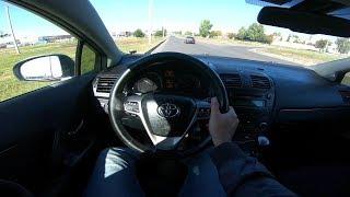 2010 Toyota Avensis POV Test Drive
