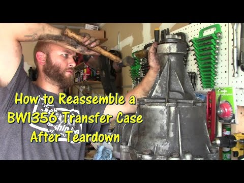How to Reassemble an F-Series & Bronco BW1356 Transfer Case after Teardown by @GettinJunkDone