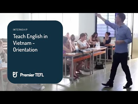 Get paid to teach English in Vietnam for  4.5 months