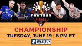 2018 PBA Tour Finals Preview - EJ Tackett vs. Jason Belmonte