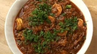 Kadai Prawns (shrimp Recipe)