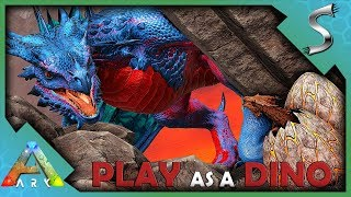 PLAYING AS A WYVERN! BUILDING A LAIR & HATCHING OUR EGGS - Ark: Play As A Dino Mod [Wyvern Gameplay]