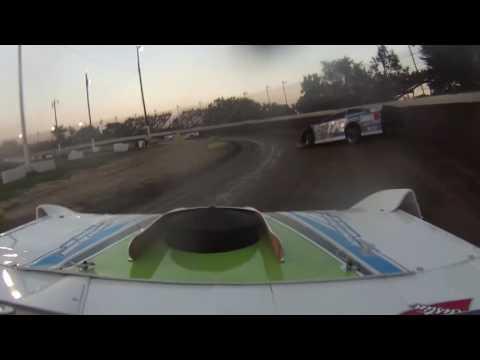 Dan Green #46 NASCAR BRC Grandview Speedway Dirt Late Model Heat 8-13-16