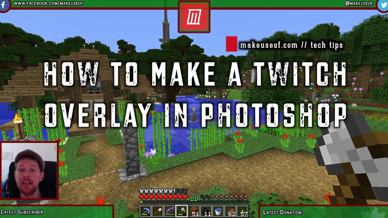How to Make a Twitch Overlay Using Photoshop