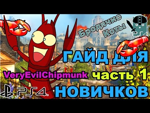 Neverwinter - Гайд Новичкам /Часть1/ PS4 Бродячие Коты