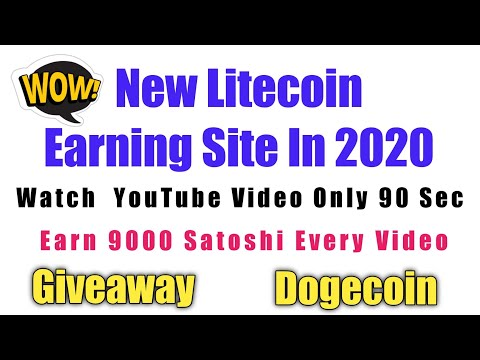 Earn Free Litecoin (LTC) Daily | How To Earn Cryptocurrency Without Investment