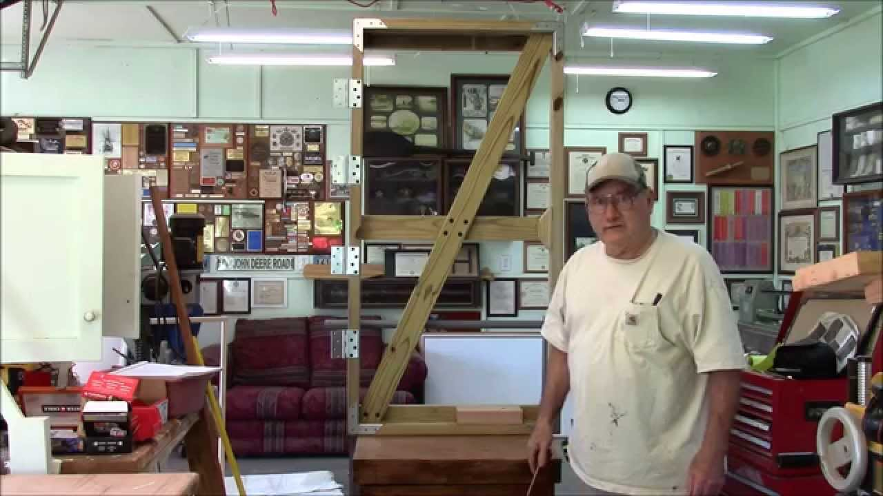 Building a strong wooden double gate youtube baanklon Images